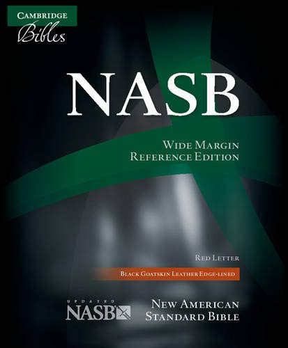 9780521702652: NASB Wide Margin Reference Bible, Black Edge-Lined Goatskin Leather, Red Letter Text NS746:XRME
