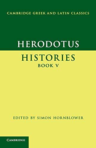 9780521703406: Herodotus: Histories Book V (Cambridge Greek and Latin Classics)