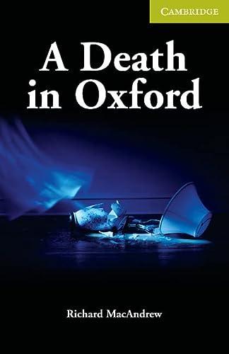 9780521704649: A Death in Oxford Starter/Beginner (Cambridge English Readers)