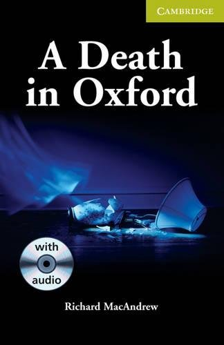 9780521704656: A Death in Oxford Starter/Beginner Book with Audio CD Pack (Cambridge English Readers)