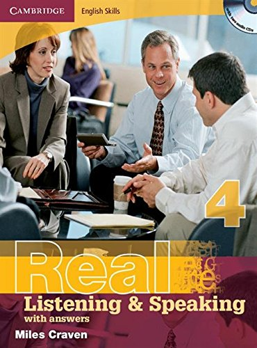 9780521705905: Cambridge English Skills Real Listening and Speaking 4 with Answers and Audio CD: Level 4