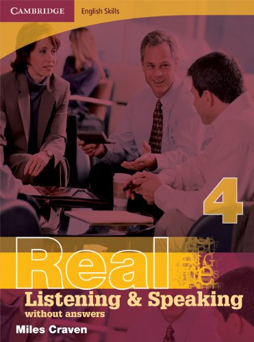 9780521705912: Cambridge English Skills Real Listening and Speaking 4 without answers