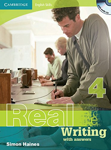 9780521705943: Cambridge English Skills Real Writing 4 with Answers and Audio CD