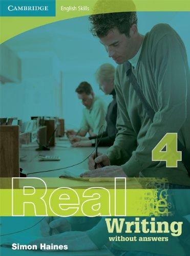 9780521705950: Cambridge English Skills Real Writing 4 without answers: Level 4