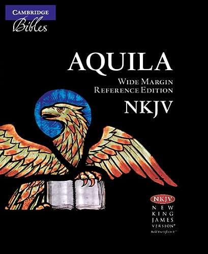 9780521706230: NKJV Wide Margin Reference Bible, Black Edge-Lined Goatskin Leather, Red Letter Text NK746:XRME