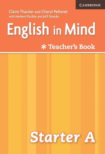 9780521706346: English in Mind Starter A Combo Teacher's Book