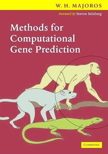 9780521706940: Methods for Computational Gene Prediction