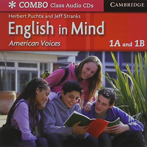 9780521706988: English in Mind Combos 1A and 1B, American Voices Class Audio CDs