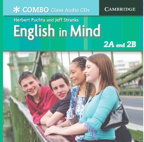 9780521706995: English in Mind Combos 2A and 2B Class Audio CDs: 2A & 2B