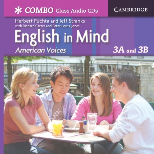 9780521707022: English in Mind Combos 3A and 3B, American Voices Class Audio CDs