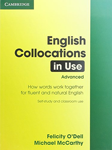 9780521707800: English Collocations in Use: Advanced