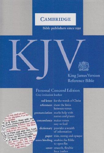 9780521707985: KJV Personal Concord Reference Edition KJ462:XR grey imitation leather