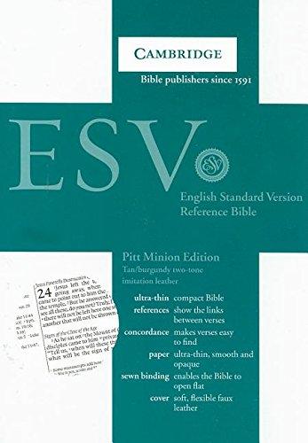 9780521708098: ESV Pitt Minion Reference Edition ES442:X Tan Imitation Leather