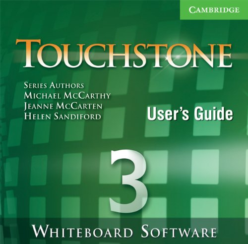 9780521708104: Touchstone Whiteboard Software 3 Single Classroom (No. 3)