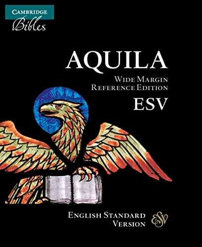 9780521708166: ESV Wide Margin Reference Bible, Black Edge-Lined Goatskin Leather, Red Letter Text ES746:XRME