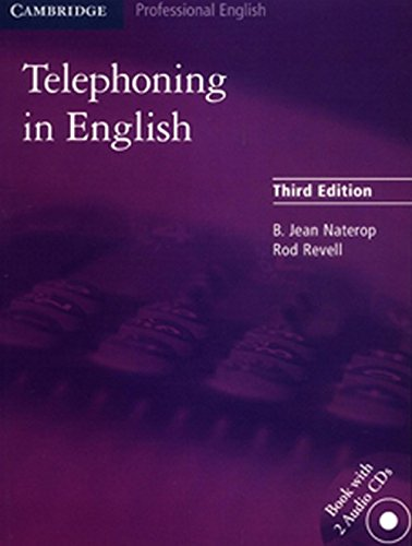 9780521708937: Telephoning in English + 2 audio cd's