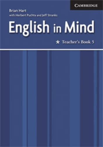 9780521708982: English in Mind Level 5 Teacher's Book