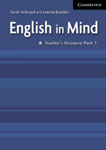 9780521708999: English in Mind 5 Teacher's Resource Pack: Level 5