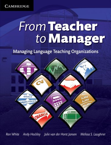 9780521709095: From Teacher to Manager: Managing Language Teaching Organizations