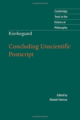 9780521709101: Kierkegaard: Concluding Unscientific Postscript (Cambridge Texts in the History of Philosophy)