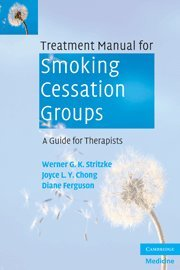 9780521709255: Treatment Manual for Smoking Cessation Groups: A Guide for Therapists