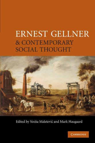 9780521709415: Ernest Gellner and Contemporary Social Thought