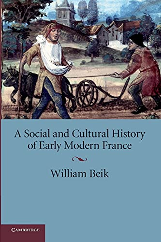 9780521709569: A Social and Cultural History of Early Modern France