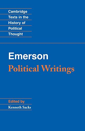 9780521710022: Emerson: Political Writings (Cambridge Texts in the History of Political Thought)
