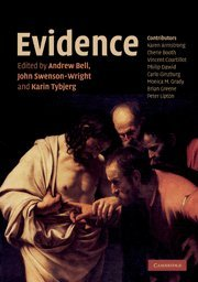 9780521710190: Evidence (Darwin College Lectures)
