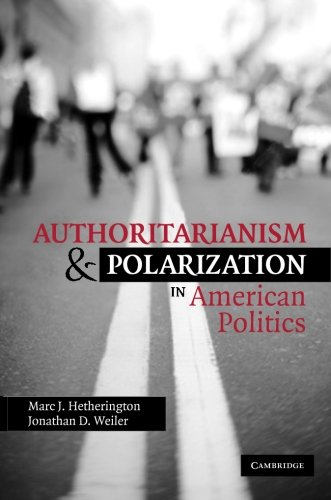 Download Authoritarianism and Polarization in American Politics