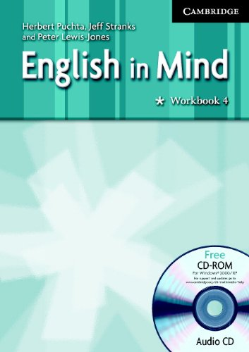 9780521711272: English in Mind, Level 4 + Audio Cd / Cd-rom: Middle Eastern Edition