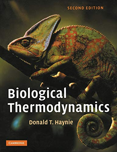 9780521711340: Biological Thermodynamics 2nd Edition Paperback
