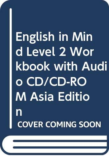 9780521711456: English in Mind Level 2 Workbook with Audio CD/CD-ROM Asia Edition