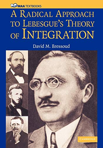 9780521711838: A Radical Approach to Lebesgue's Theory of Integration (Mathematical Association of America Textbooks)