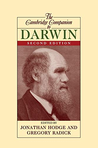 9780521711845: The Cambridge Companion to Darwin 2nd Edition Paperback (Cambridge Companions to Philosophy)