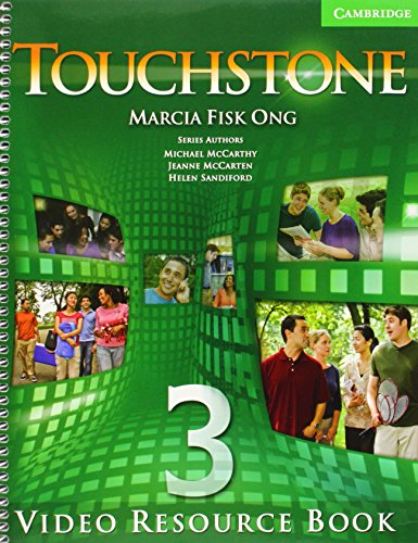 9780521712019: Touchstone  3 Video Resource Book: Level 3