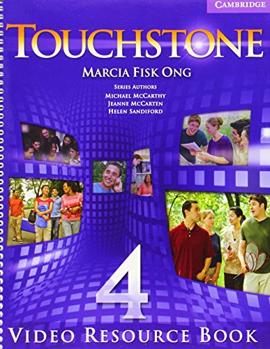 9780521712026: Touchstone  4 Video Resource Book: Level 4