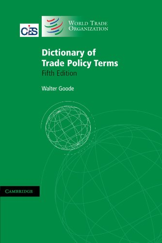 9780521712064: Dictionary of Trade Policy Terms