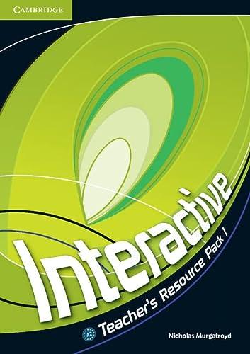 9780521712118: Interactive  1 Teacher's Resource Pack