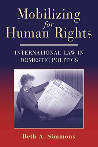 9780521712323: Mobilizing for Human Rights: International Law in Domestic Politics