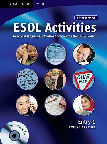 9780521712385: ESOL Activities Entry 1 (Cambridge for Esol)