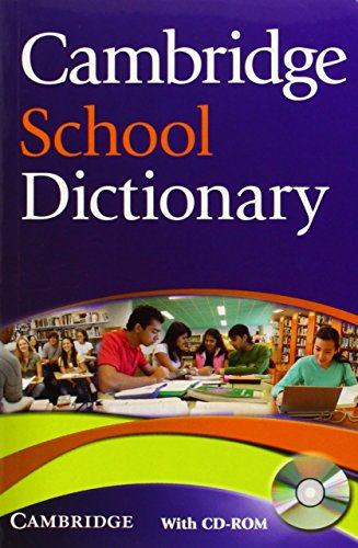 9780521712637: Cambridge School Dictionary Paperback with CD-ROM (Cambridge Dictionary)