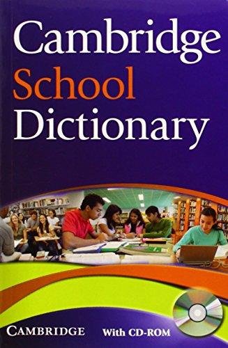 9780521712637: Cambridge School Dictionary Camb School Dictionary w CD-ROM