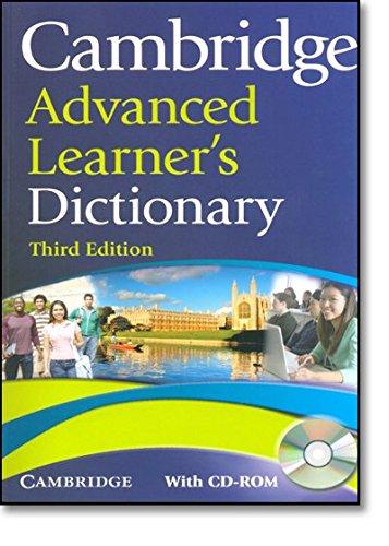 9780521712668: Cambridge advanced learner's dictionary. Con CD-ROM
