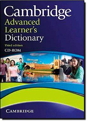 9780521712675: Cambridge Advanced Learner's Dictionary CD-ROM