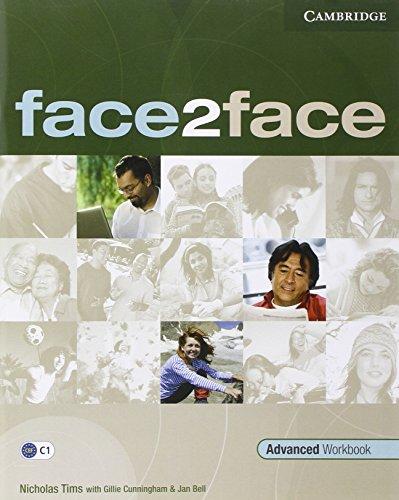 9780521712798: Face2face. Advanced. Workbook. With key. Per le Scuole superiori