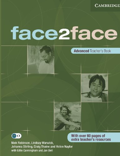 9780521712804: face2face Advanced Teacher's Book