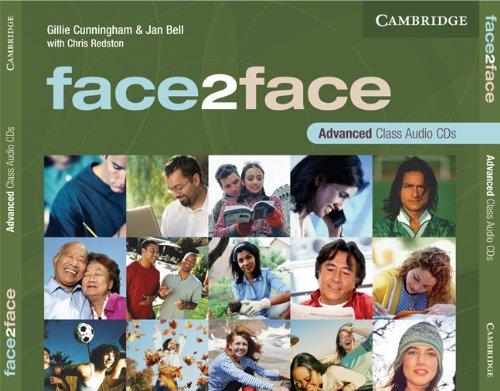 9780521712828: face2face Advanced Class Audio CDs (3)