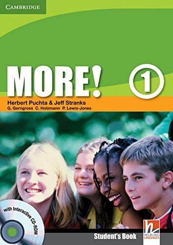 9780521712934: More!  1 Student's Book with Interactive CD-ROM: Level 1