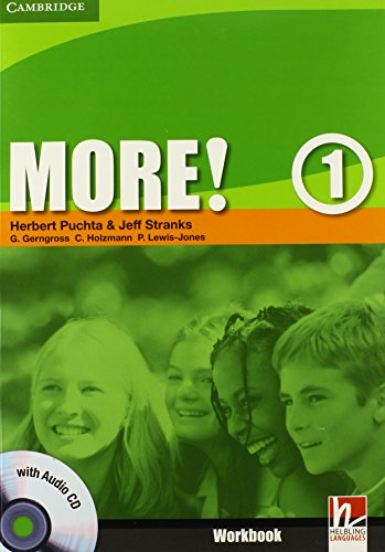 9780521712941: More! Level 1 Workbook with Audio CD